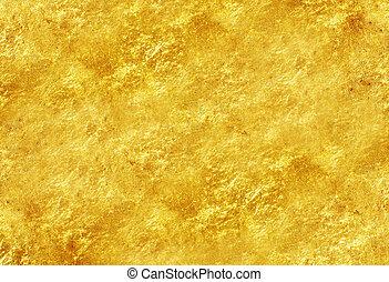 guld, tekstur, glitre, baggrund