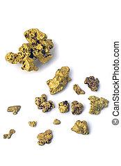 guldklimp, guld