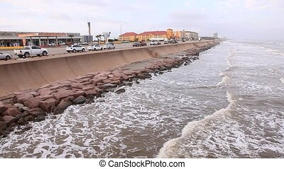 Gulf of Mexico Coast in Galveston