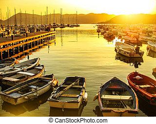 Gulf of Poets sunset