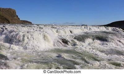 Gullfoss waterfall, Iceland - Gullfoss waterfall is one of...