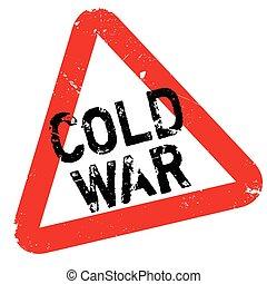 gumi bélyegző, hidegháború