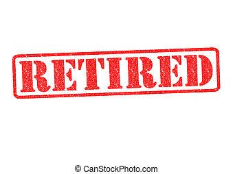 gumi bélyegző, nyugdíjas