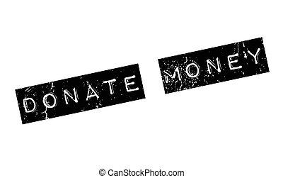 gumi, pénz, adományoz, bélyeg