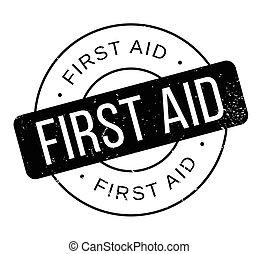 gumi, segély, először, bélyeg