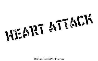 gumi, szív, Támad, bélyeg