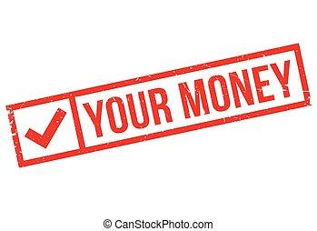gummi, geld, dein, briefmarke