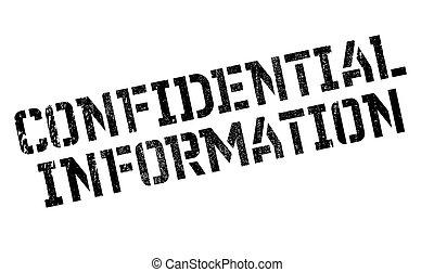 gummi, informationen, vertraulich, briefmarke