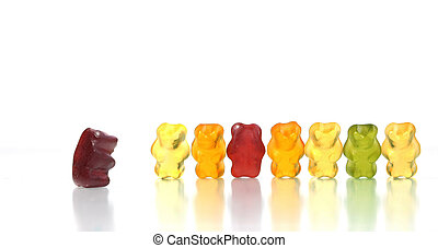 Dare to challenge authority - Gummy bears story series -...