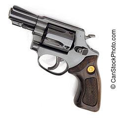 Brazilian gun isolated on white background