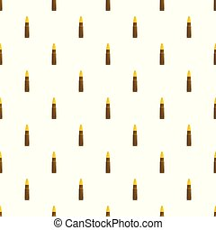 Gun cartridge pattern seamless vector