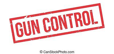 Gun Control rubber stamp