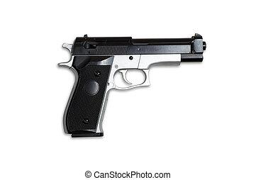 Gun isolated