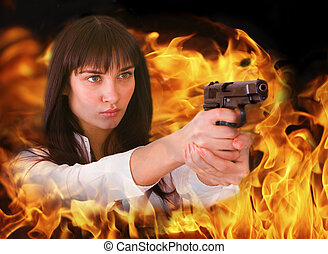 gun., menina