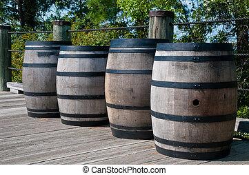 Gun Powder Barrels