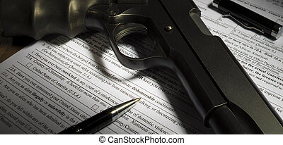 Gun purchase form question on dishonorable discharge