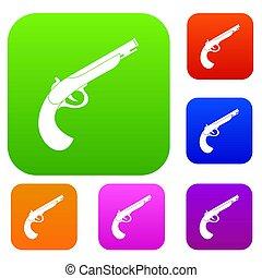 Gun set color collection