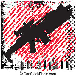 gun vector illustration