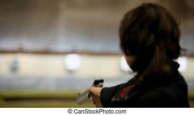 gun   - woman with gun