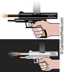 Gunfire vector