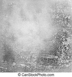 Gunge gray distressed background