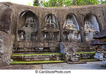 Gunung kawi temple in Bali, Indonesia, Asia - unung Kawi...