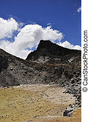 Gunung Sibayak volcanoe crater 2