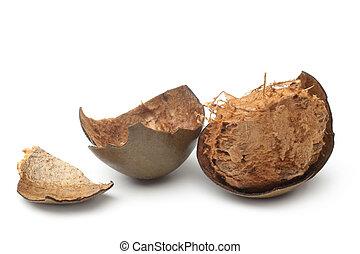 guo), grosvenorii, han, (luo, siraitia, früchte