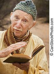 Guru in the desert