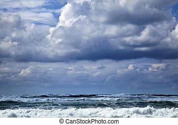 Gushing Winter Sea