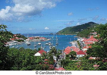 Gustavia Harbor, St. Barths