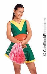 gut aussehend, cheerleader