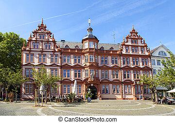 gutenberg, museum, in, mainz, deutschland