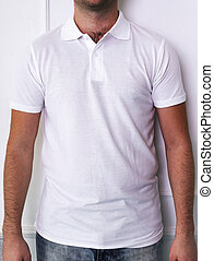 Guy in a white shirt