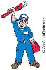 guy plumber