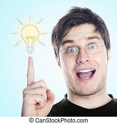Guy with an idea