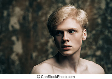 guy with blond hair