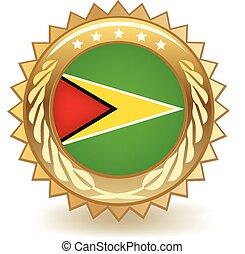 Guyana Badge