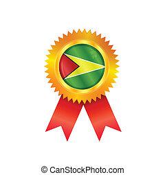 Guyana medal flag