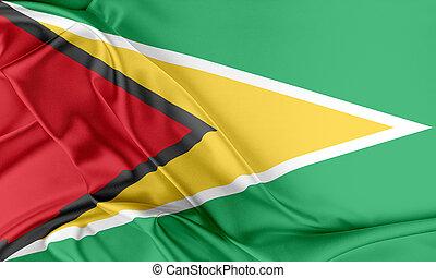 guyane, flag.