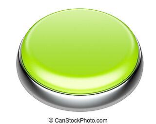 guzik, elementy, zielony, metaliczny