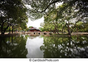 gwanghanru, 南, namwon, 韓国, 風景, 美しい