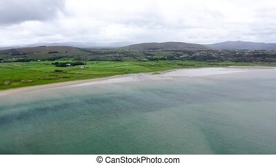 Gweebarra bay by Lettermacaward in County Donegal - Ireland.