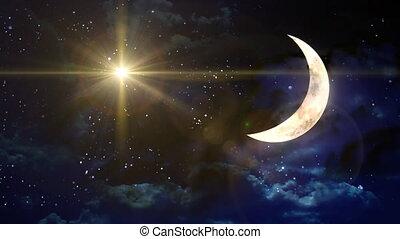gwiazda, krzyż, księżyc