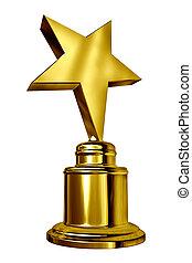 gwiazda, nagroda