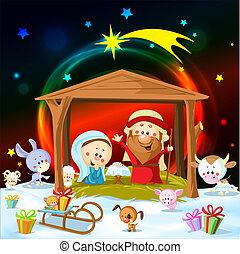 gwiazdkowy nativity