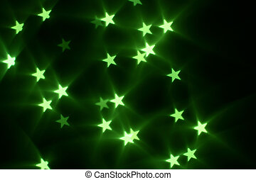 gwiazdy, bokeh