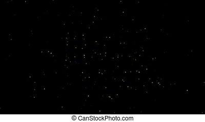 gwiazdy, migotać