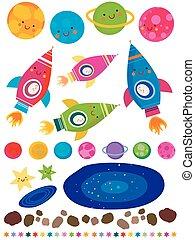 gwiazdy, planety