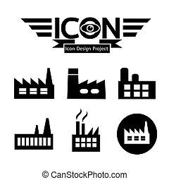 gyár, ikon
